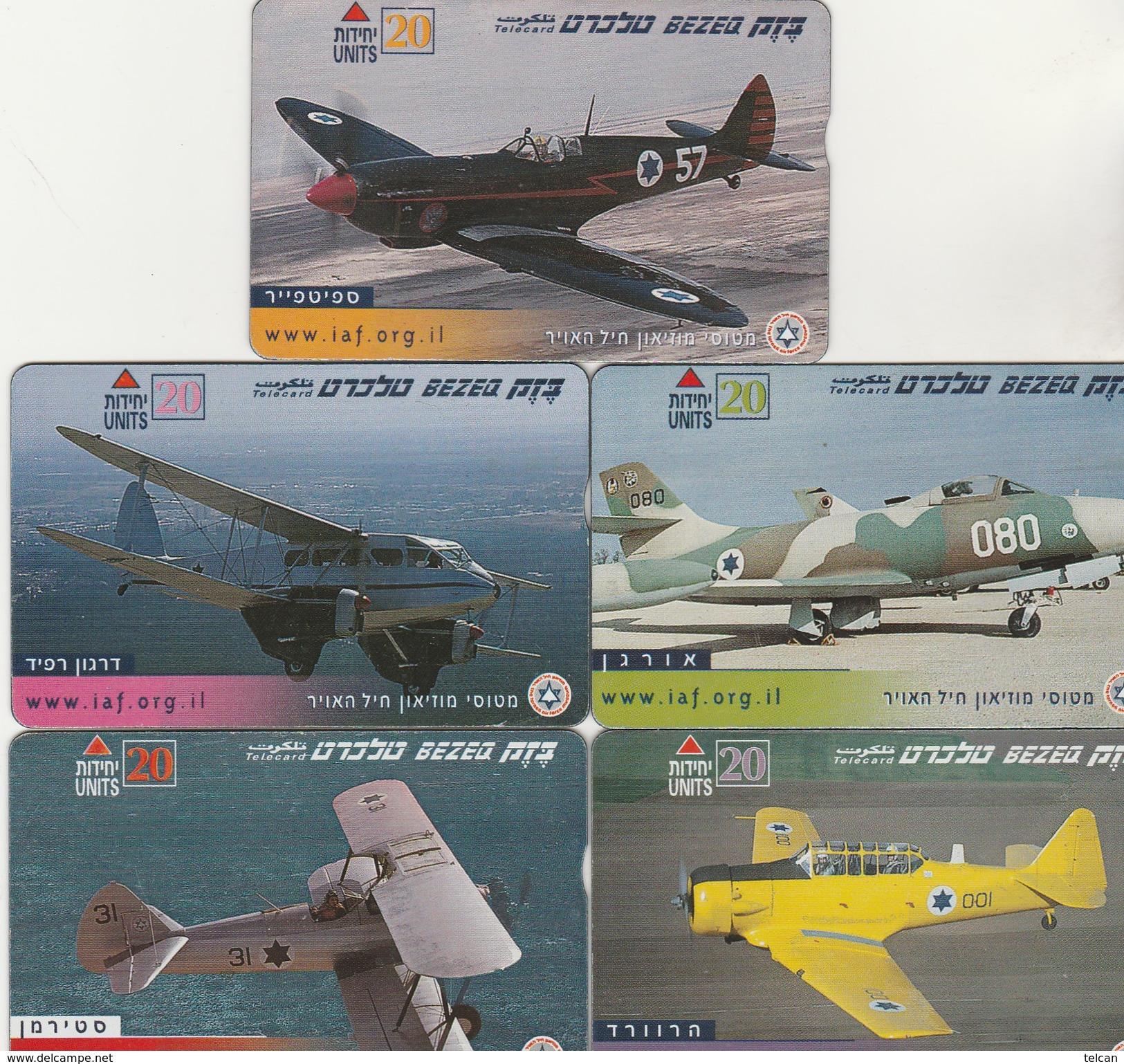 5 Avions Militaires - Israel