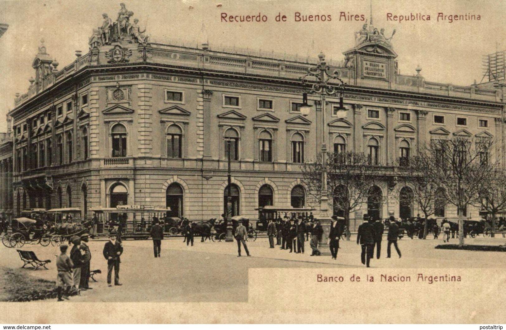 RECUERDO DE BUENOS AIRES REPUBLICA ARGENTINA BANCO DE LA NACION ARGENTINA - Argentina
