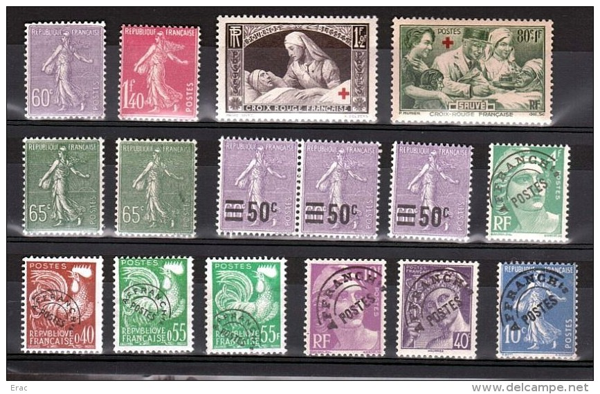 France - Petit Stock De Timbres Neufs  Des Années 1920/30 - Cote +++ - Stamps