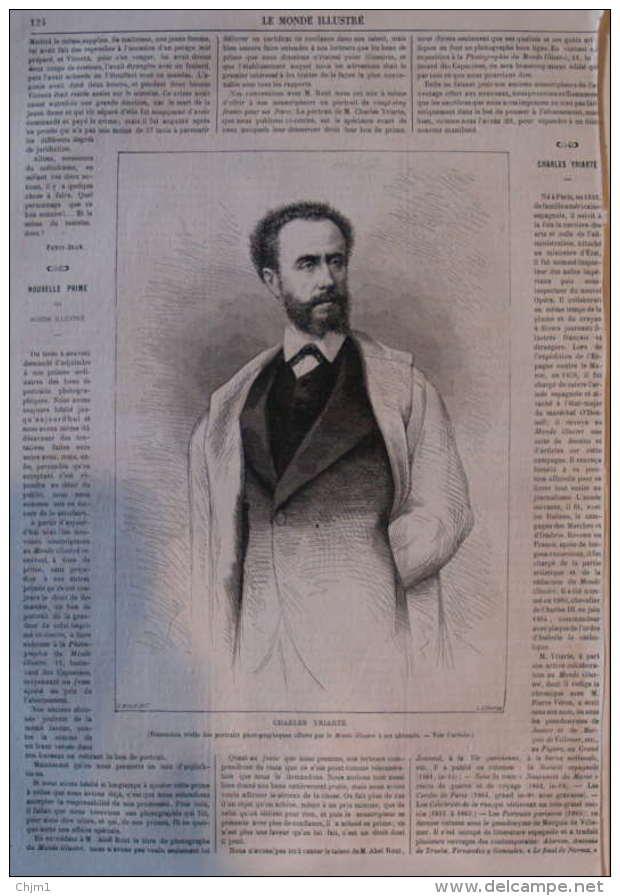 Charles Yriarte -  Page Original 1867 - Historische Dokumente