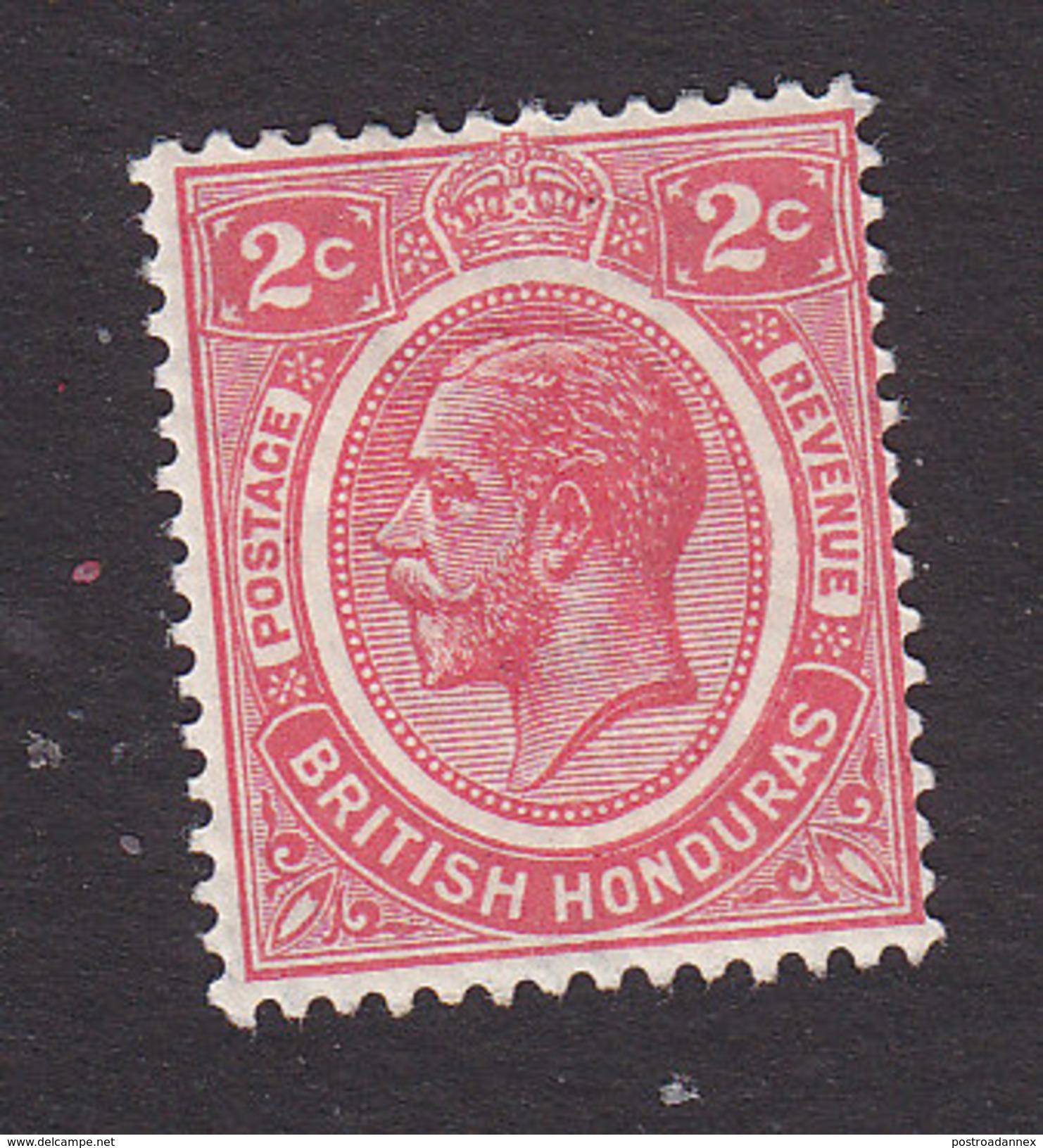 British Honduras, Scott #94, Mint Hinged, George V, Issued 1927 - British Honduras (...-1970)