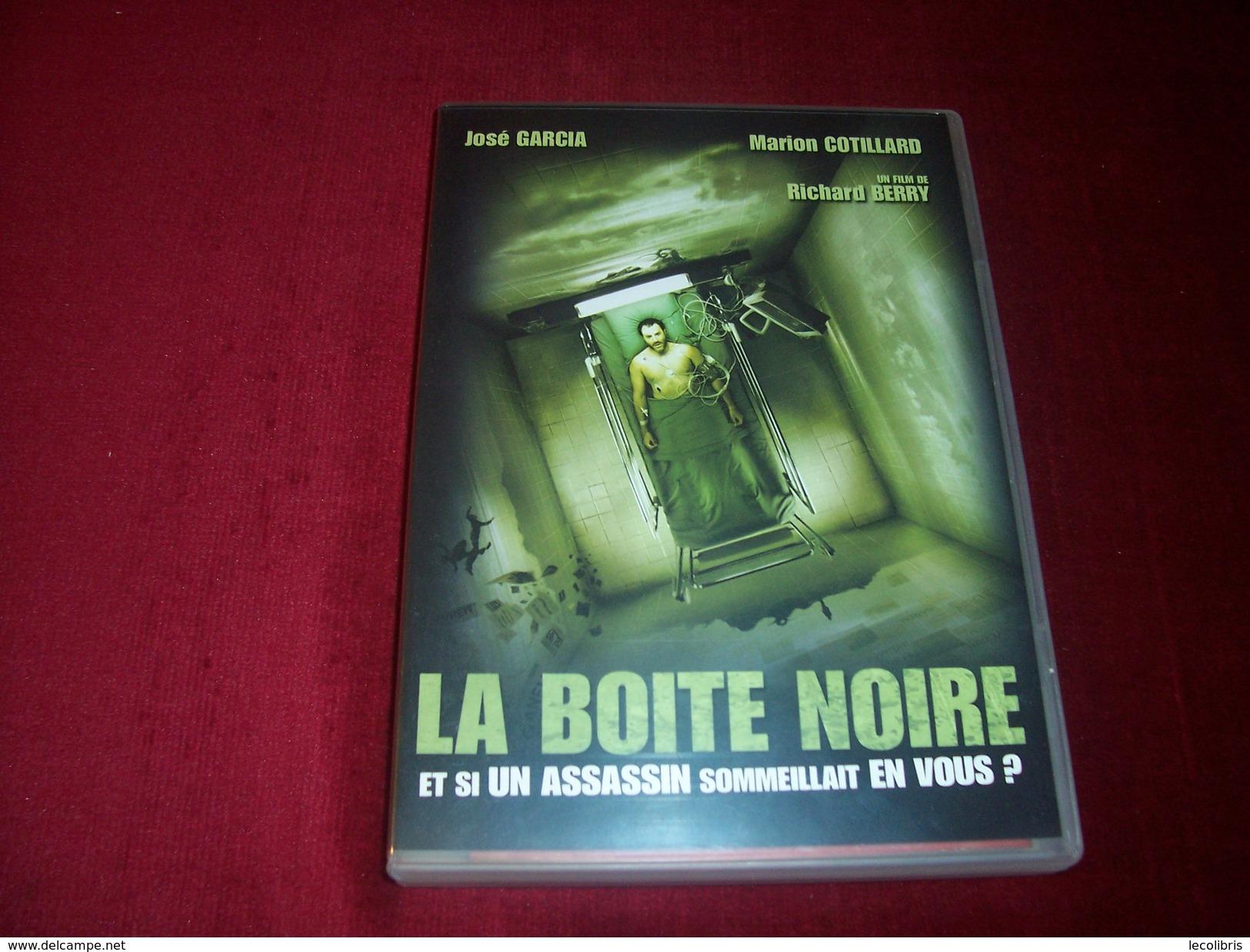 LA BOITE NOIRE / JOSE GARCIA / MARION COTILLARD - Policiers