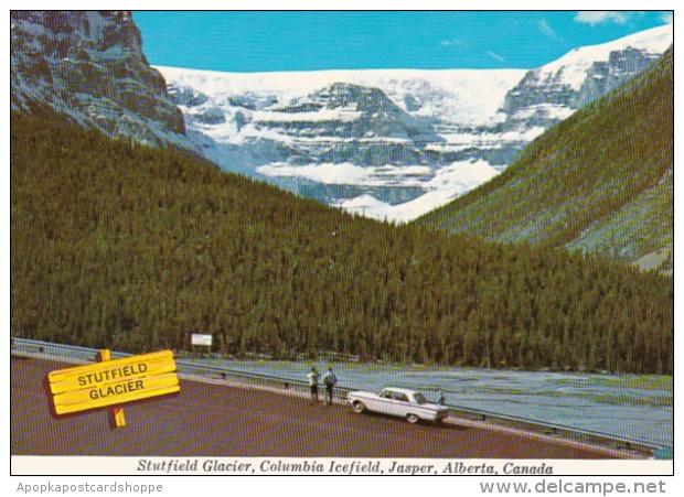 Canada Jasper Stutfield Glacier Columbia Icefield