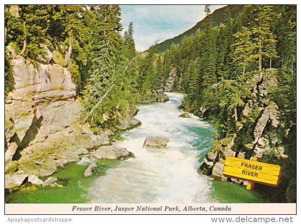 Canada Alberta Fraser River Jasper National Park