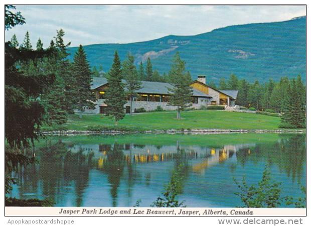Canada Jasper The Jasper Park Lodge & Lac Beauvert