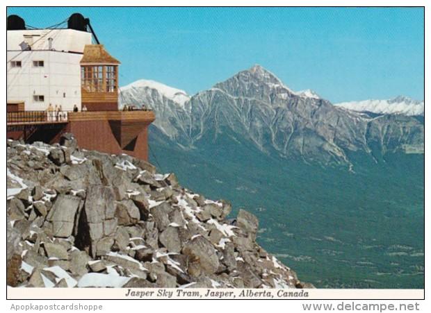 Canada Jasper The Jasper Sky Tram Upper Terminal
