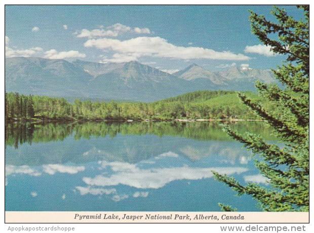 Canada Pyramid Lake Jasper National Park