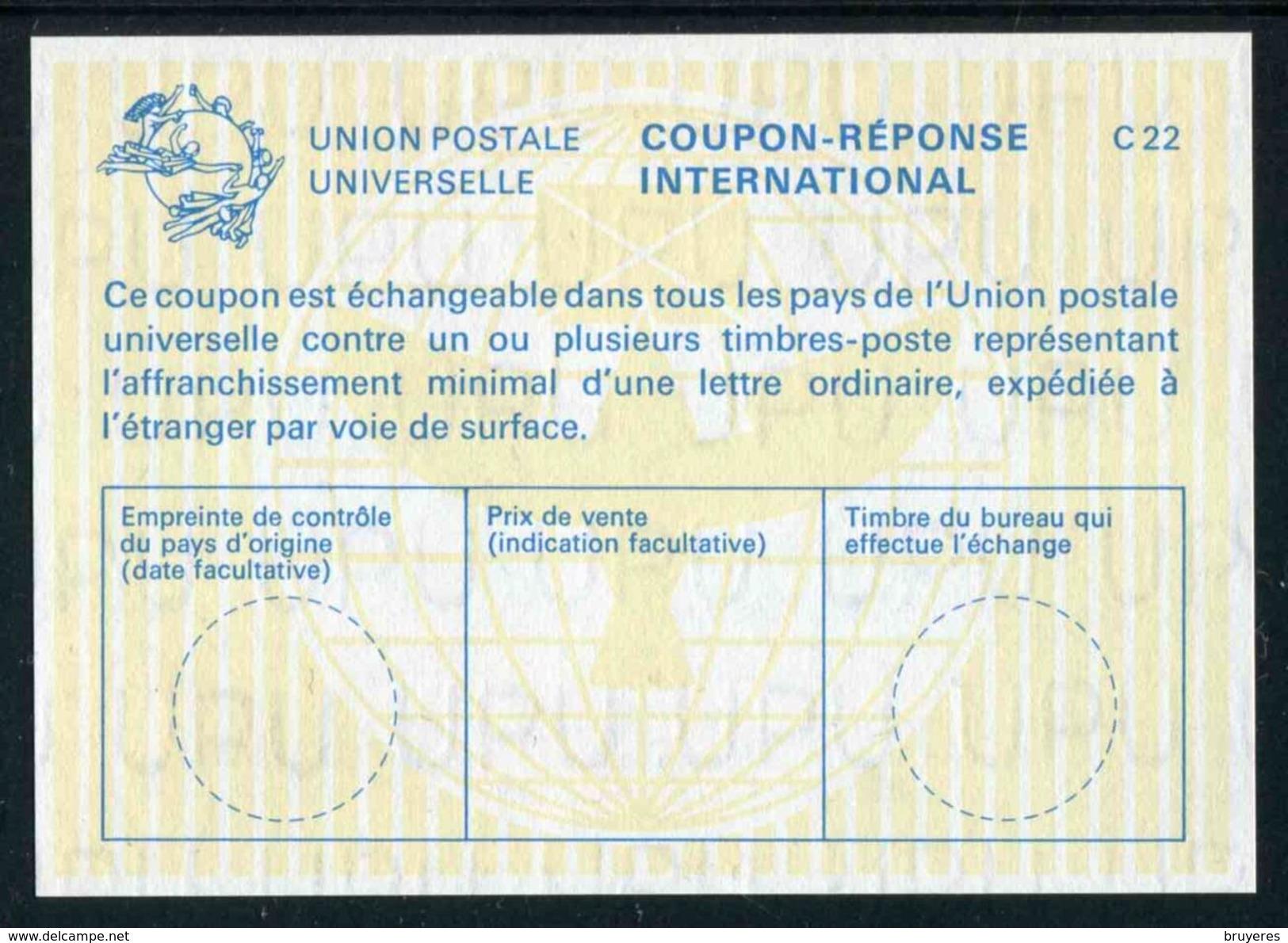 COUPON-REPONSE INTERNATIONAL (C 22) - Antwoordbons