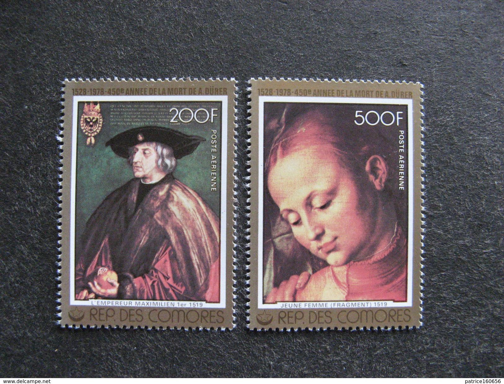 A). Comores: TB Paire PA N° 137 Et N°138, Neufs XX. - Comores (1975-...)