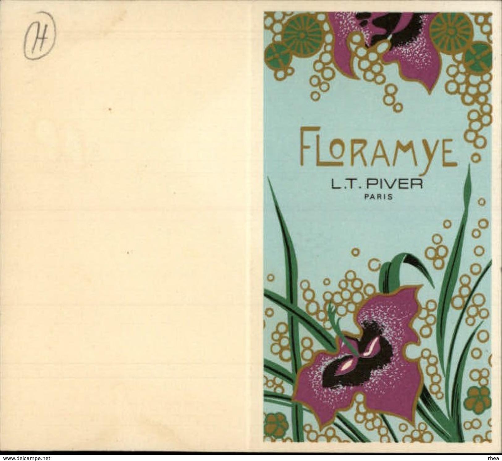 PARFUM - Parfumerie - Floramye De L. T. Piver - Petit Calendrier 1974 - Publicités