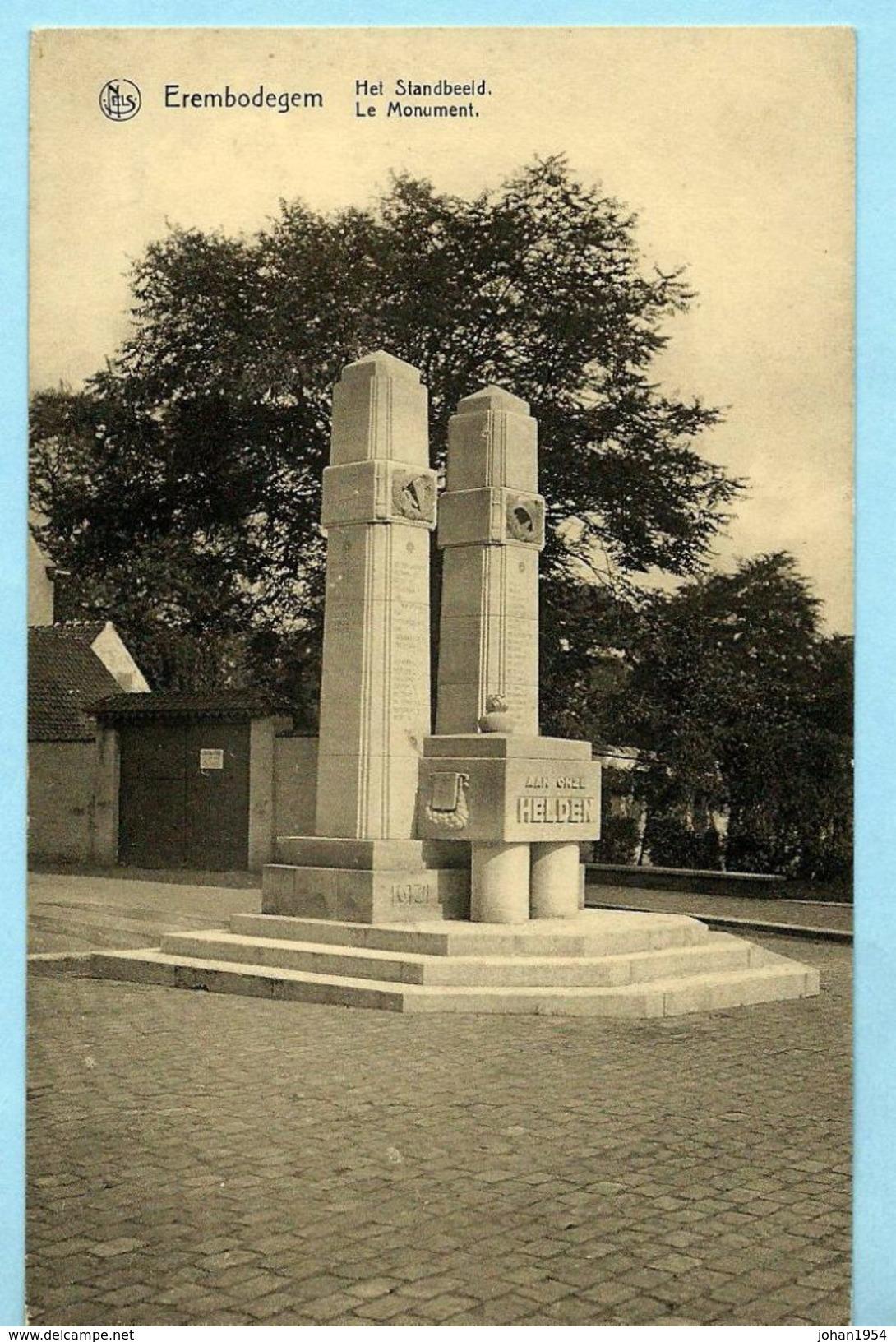 EREMBODEGEM - Het Standbeeld - Aalst