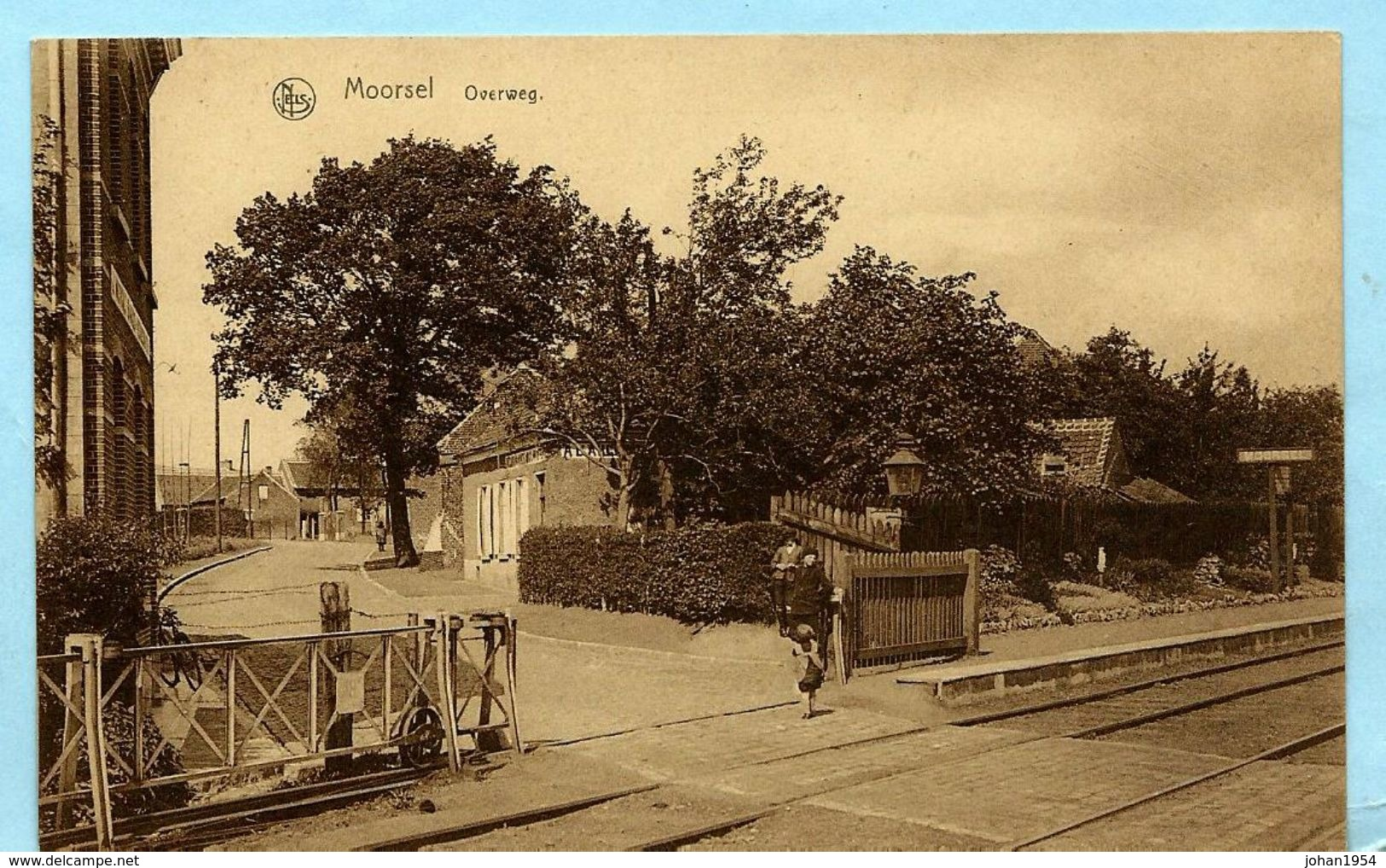 MOORSEL - Overweg - Aalst