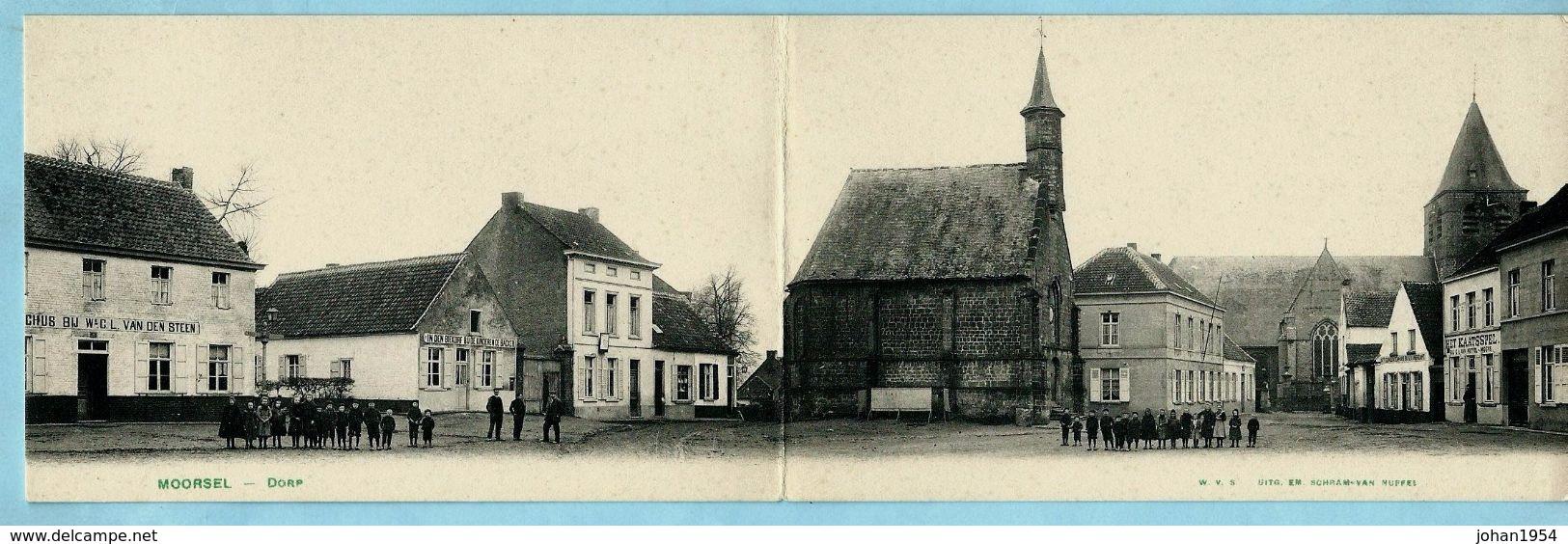 MOORSEL - Dorp (panoramische Kaart) - Aalst
