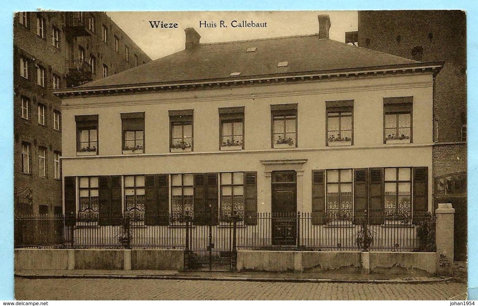 WIEZE - Huis R. Callebaut - Lebbeke