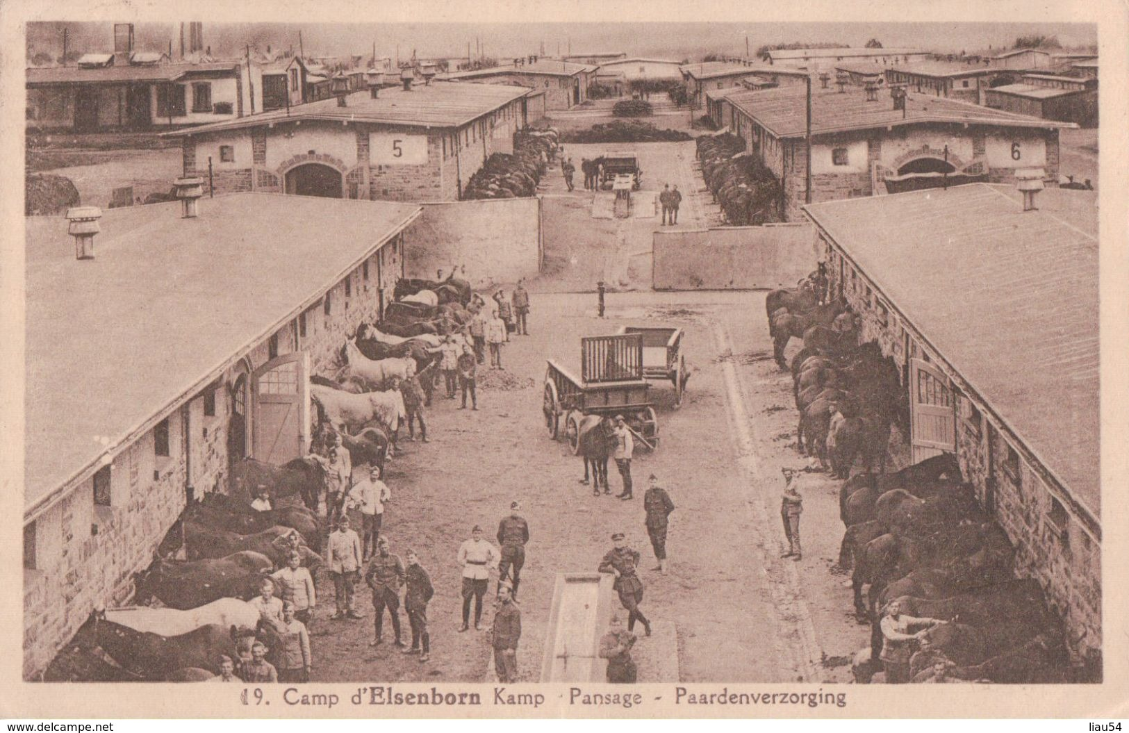 Camp D'Elsenborn Pansage (1934) - Elsenborn (camp)