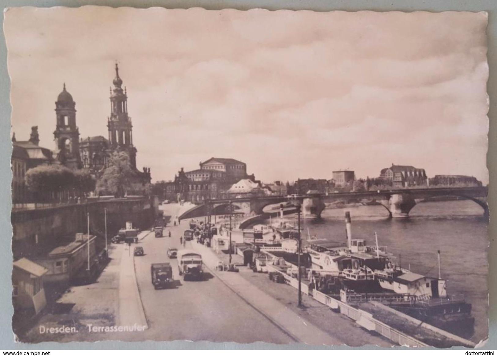 DRESDEN - Terrassenufer - Nv - Dresden
