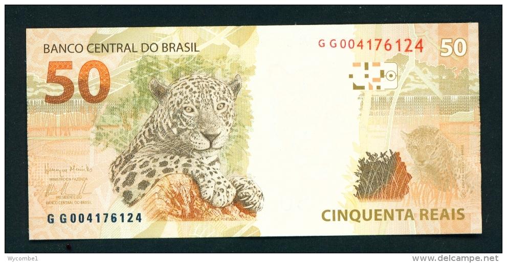 BRASIL  -  2010  50 Real  UNC Banknote - Brazil