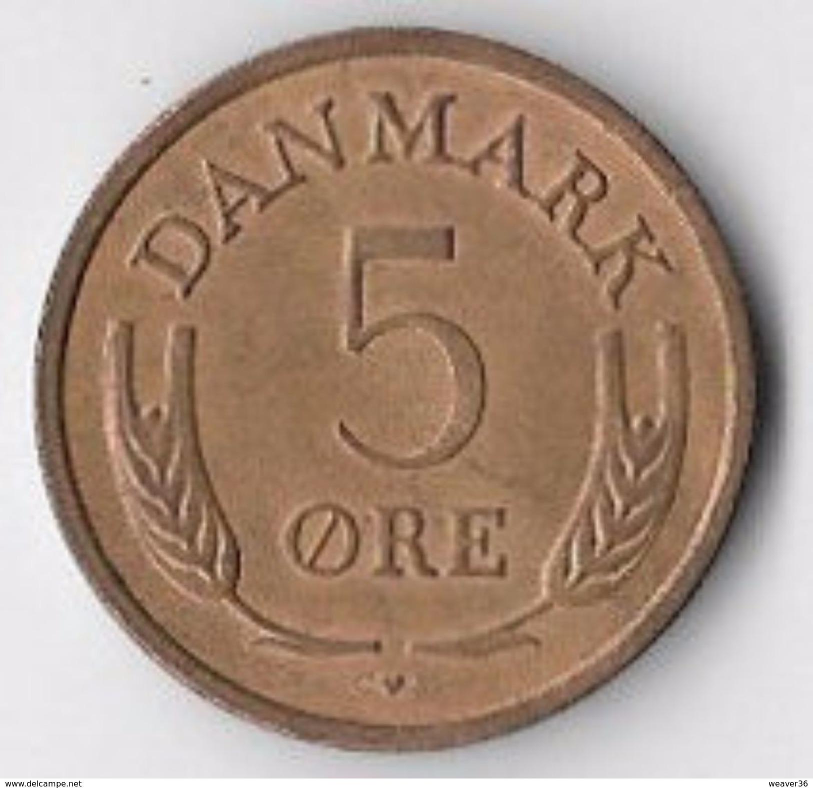 Denmark 1969 5 øre [C649/2D] - Denmark