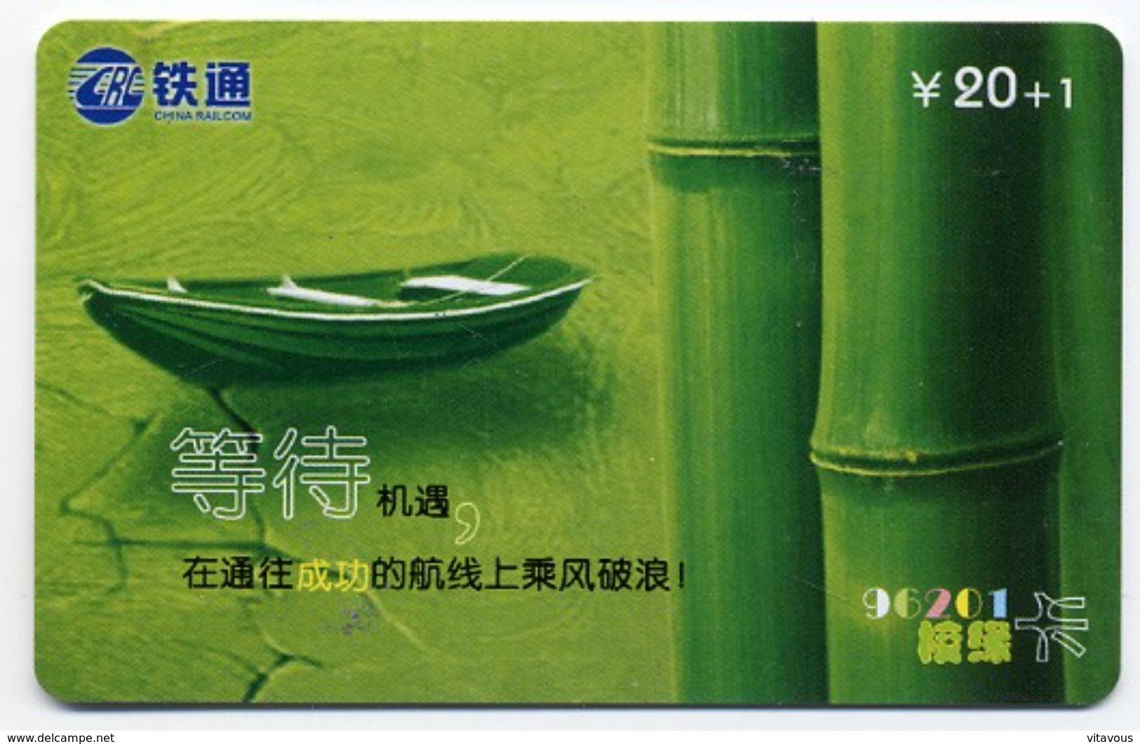 Bateau Boat Télécarte Telefonkarten Phonecard (D.119) - Chine