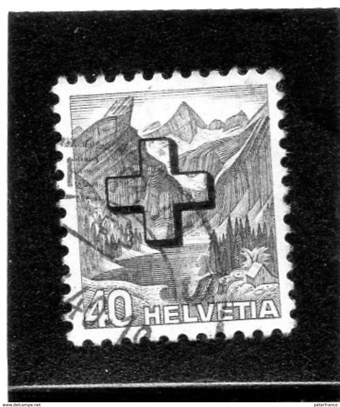 B - 1938 Svizzera - Francobollo Amministrativo - Dienstpost