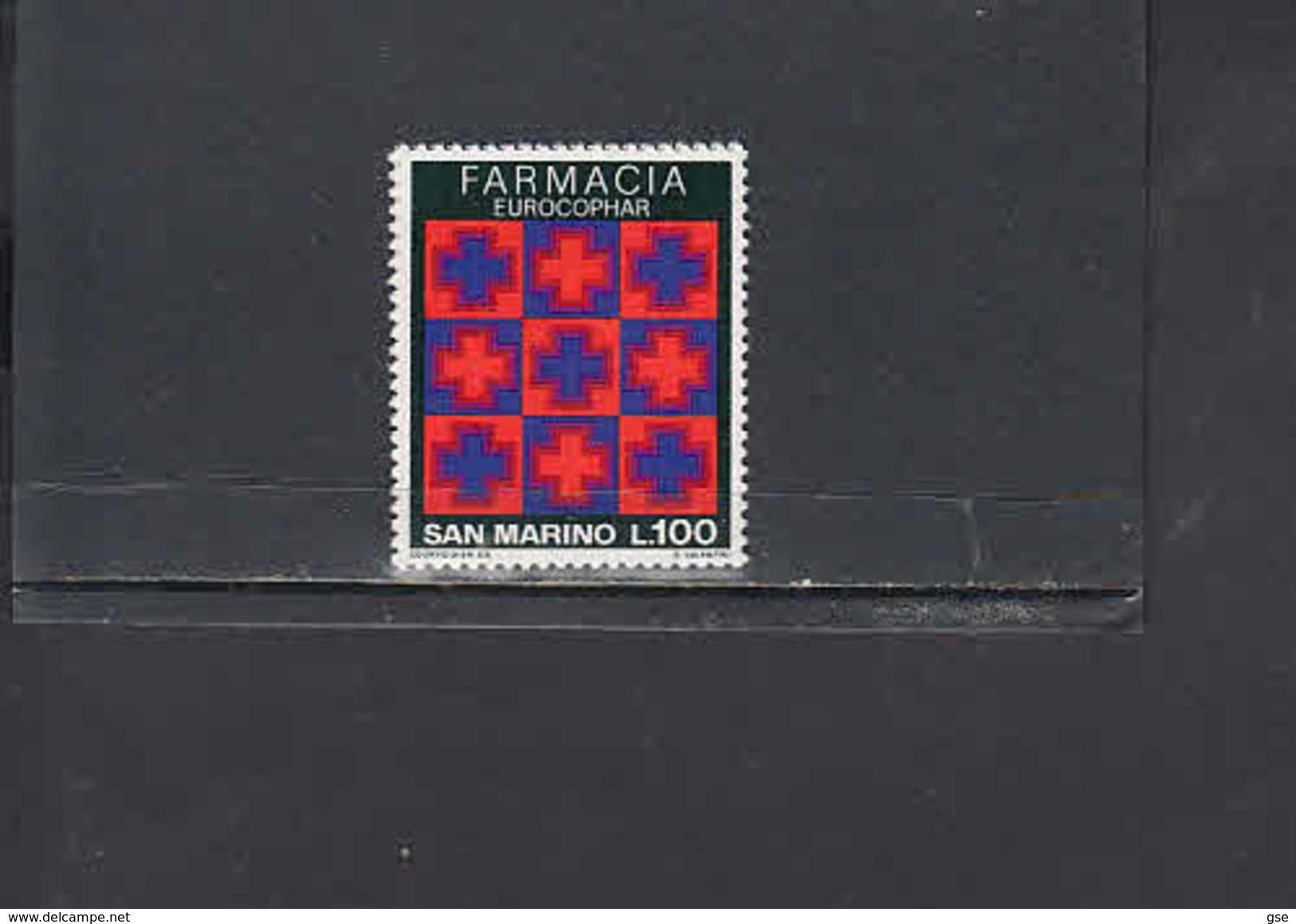 SAN MARINO 1975 - Sassone  944** - Salute - Farmacia - San Marino