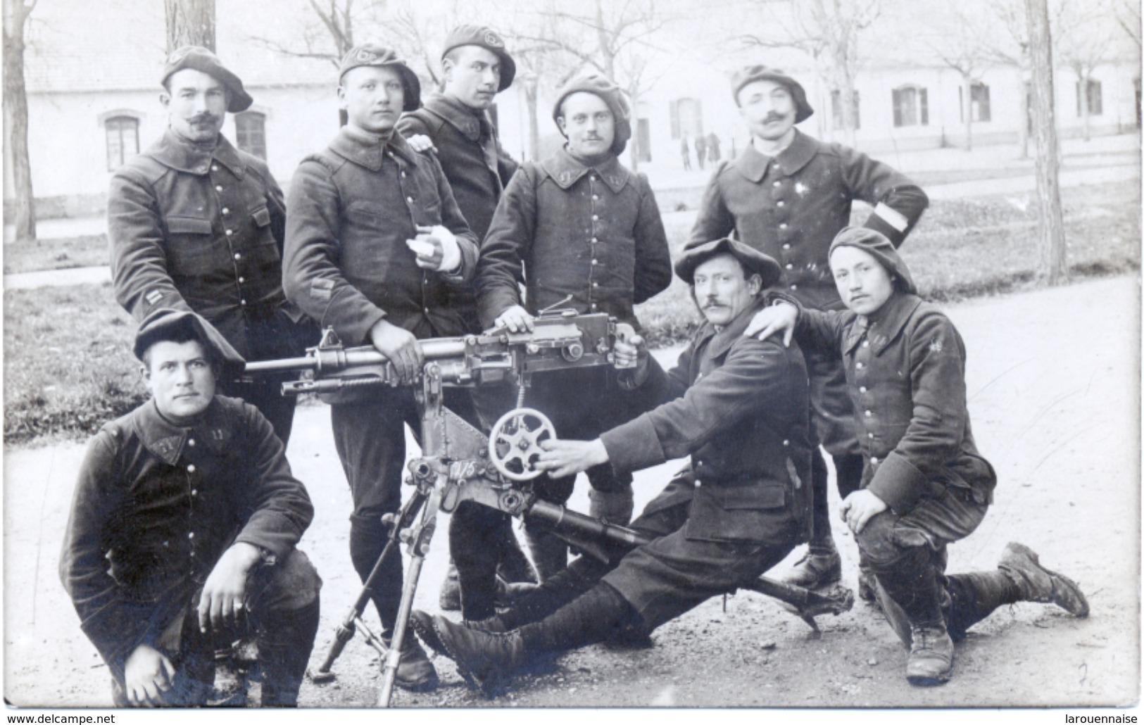 74 - Annecy: 11 ème Bataillon De Chasseurs Alpins - Carte Photo. - Annecy
