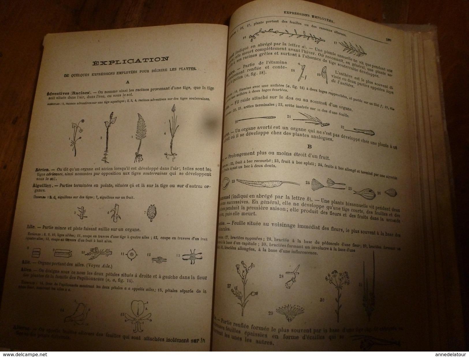 1944 FLORE Complète De La France Et De La Suisse Par G. Bonnier Et G. De Layens , Comprenant 5.338 Figures;etc - B. Piante Fiorite & Fiori