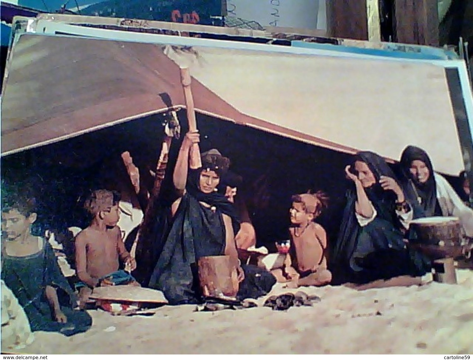 MAURITANIA VITA NOMADE  VITA SOTTO LA TENDA  N1975 GI17599 - Mauritania