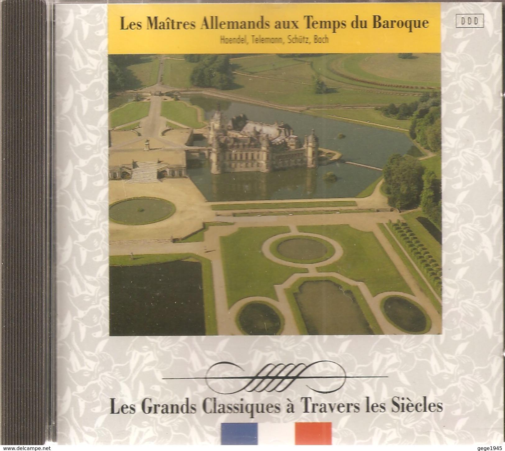 CD     Les  Maîtres  Allemands  Aux  Temps  Du  Baroque    Avec   14  Titres - Klassik