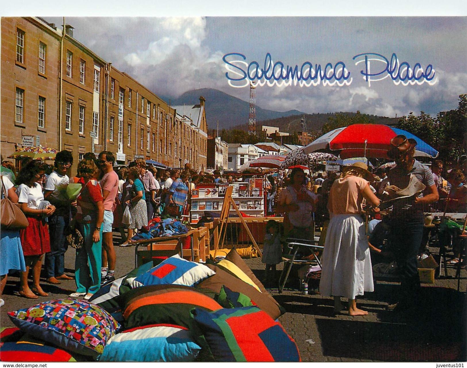 CPSM Hobart-Salamanca Place-Market-Marché           L2407 - Canberra (ACT)