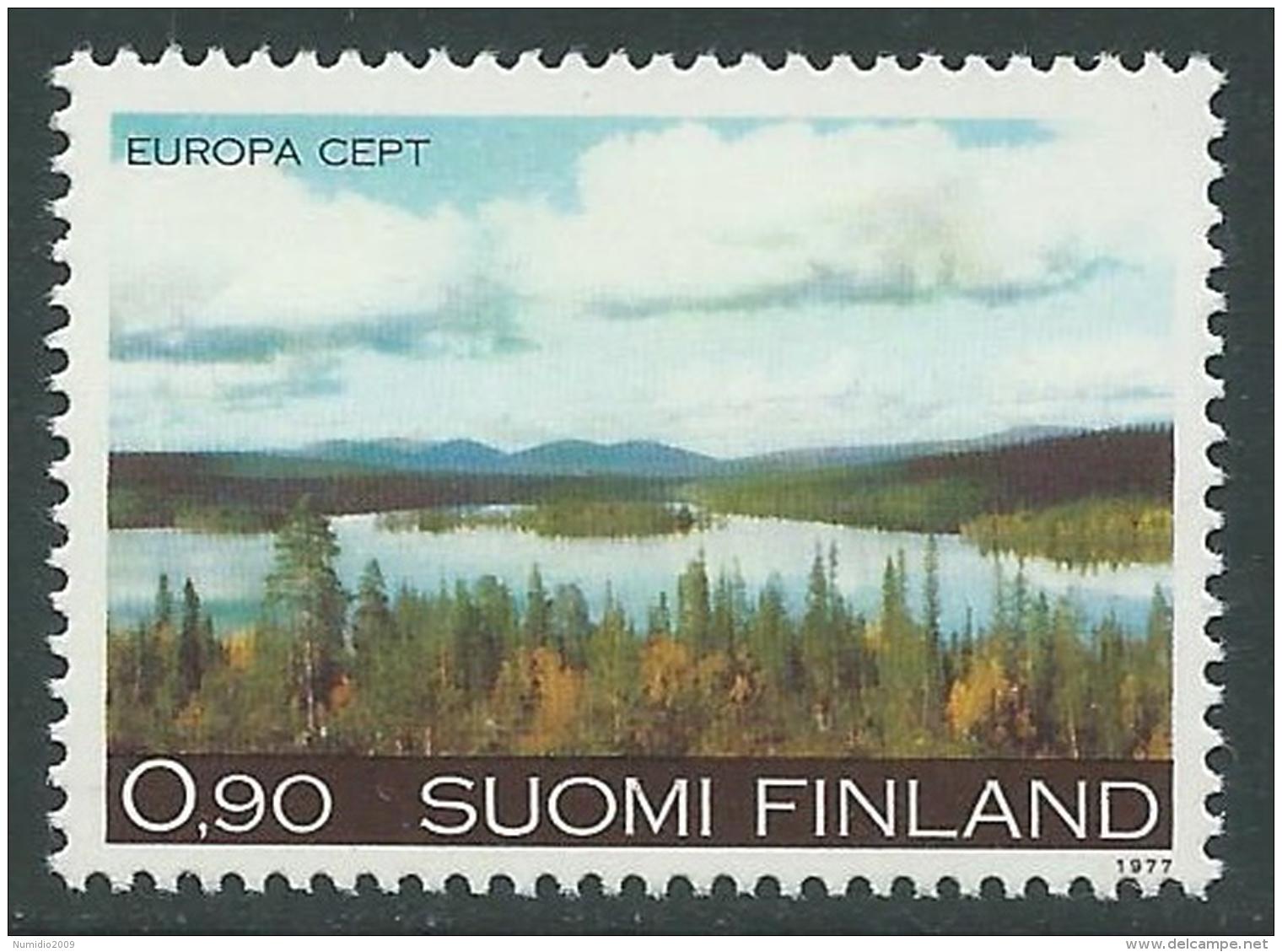 1977 EUROPA CEPT FINLANDIA MNH ** - R36-4 - Europa-CEPT