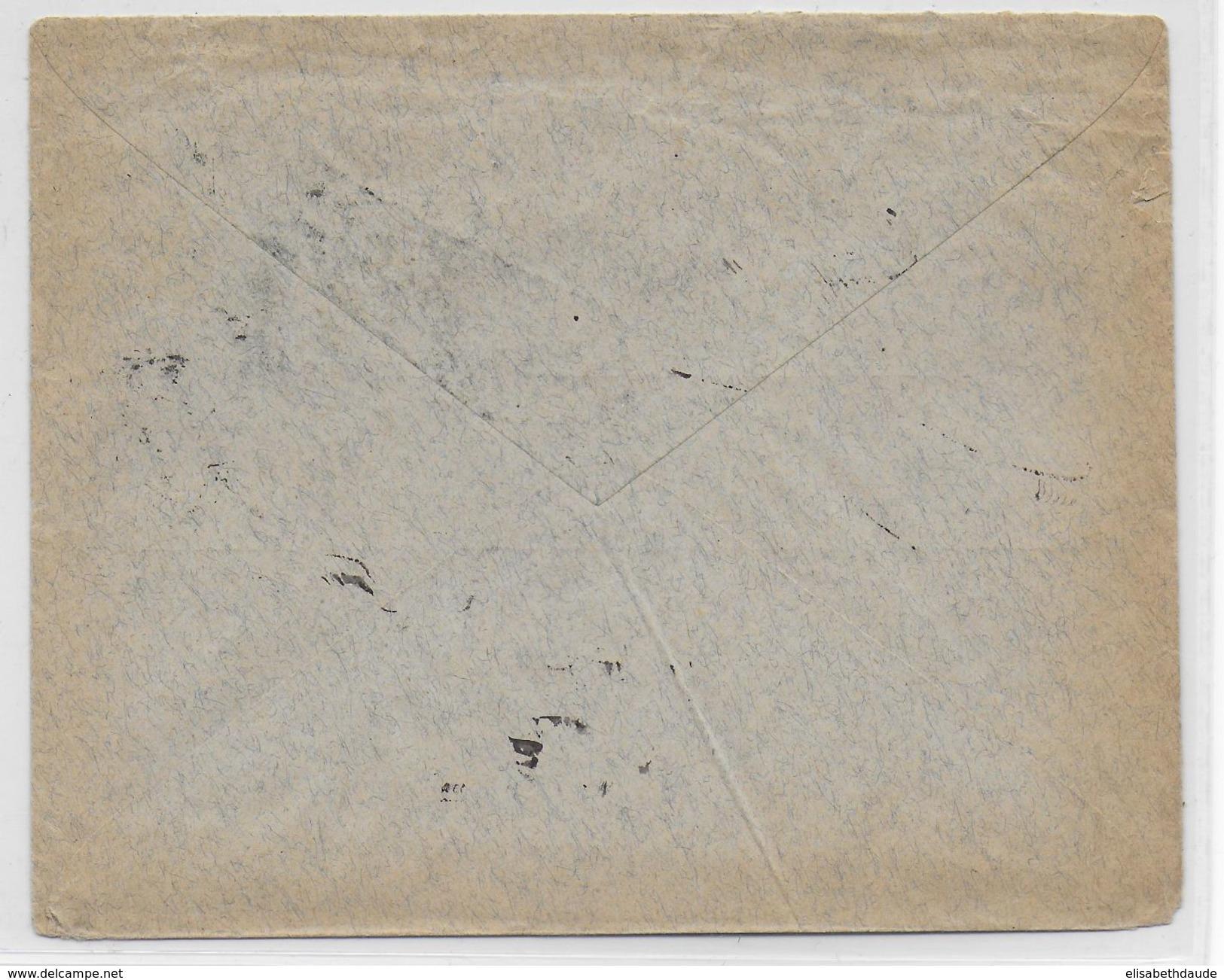 POLOGNEADMINISTRATION RUSSE - 1909 - ENVELOPPE De VARSOVIE => SAVERNE (ALSACE) - ....-1919 Übergangsregierung