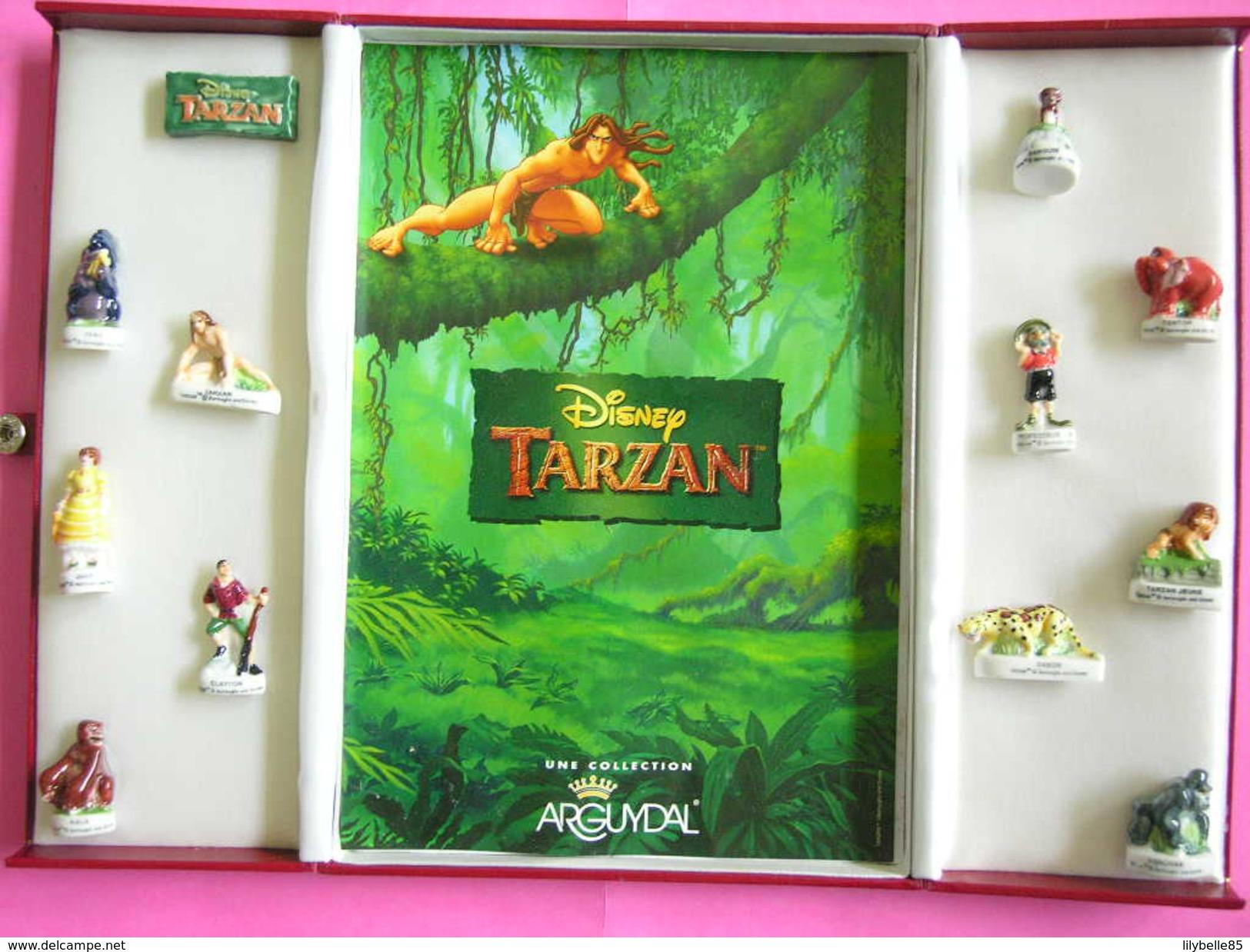 Coffret Collector Série Complète De 12 Fèves Disney - TARZAN 2000 ( Feve ) - Disney