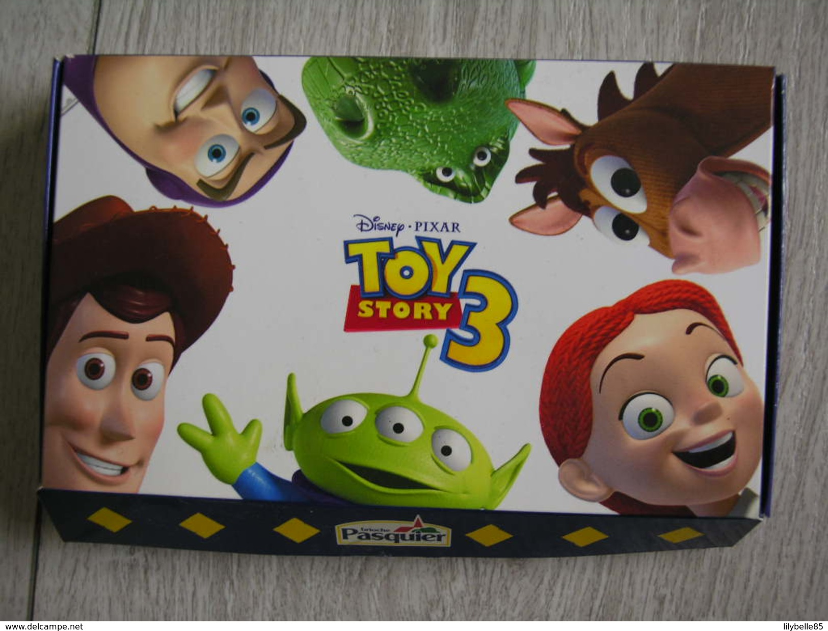 Coffret Collector Série Complète De 8 Fèves Disney TOY STORY III - 2011 ( Feve ) - Disney