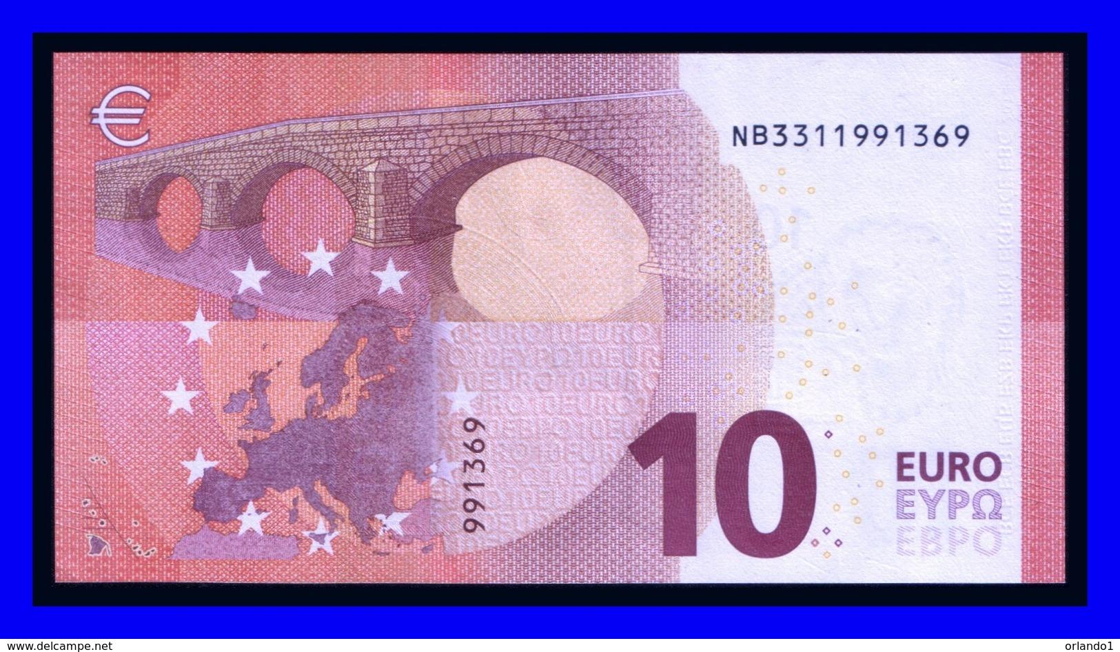 """""""NB"""" AUSTRIA Firma DRAGHI  N011C3 UNC - 10 Euro"""