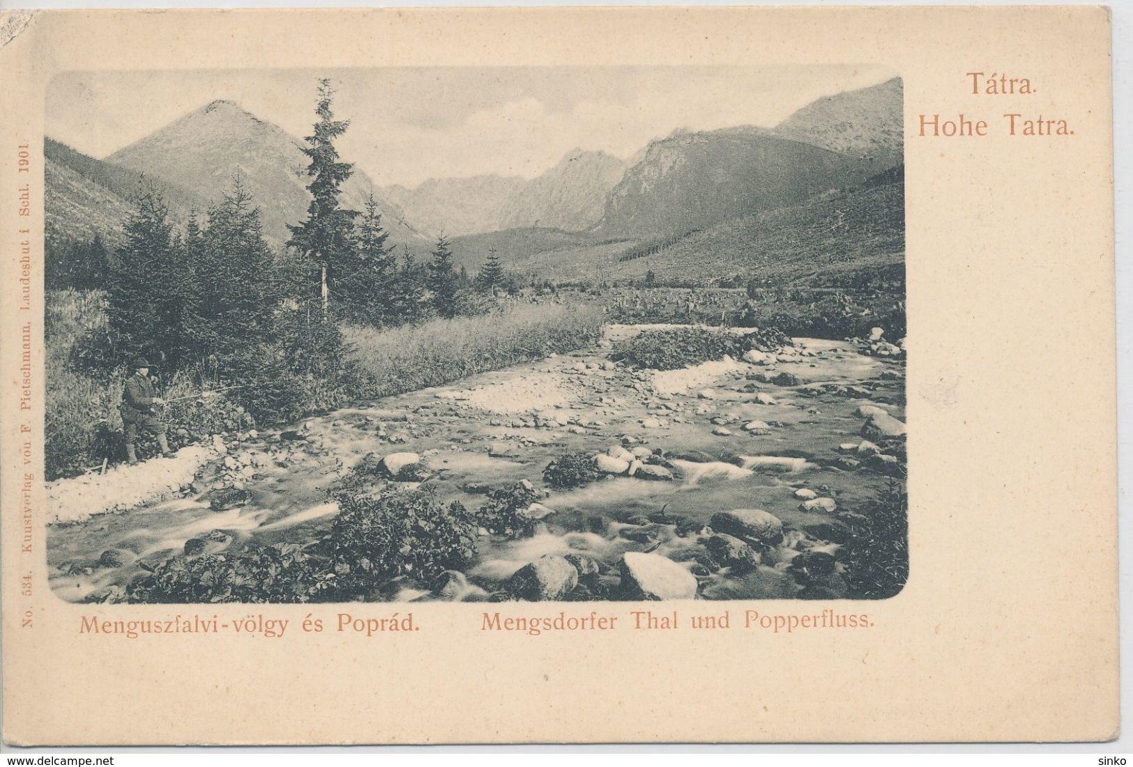 High Tatra. Menguszfalva Valley And Poprad. - Slovakia