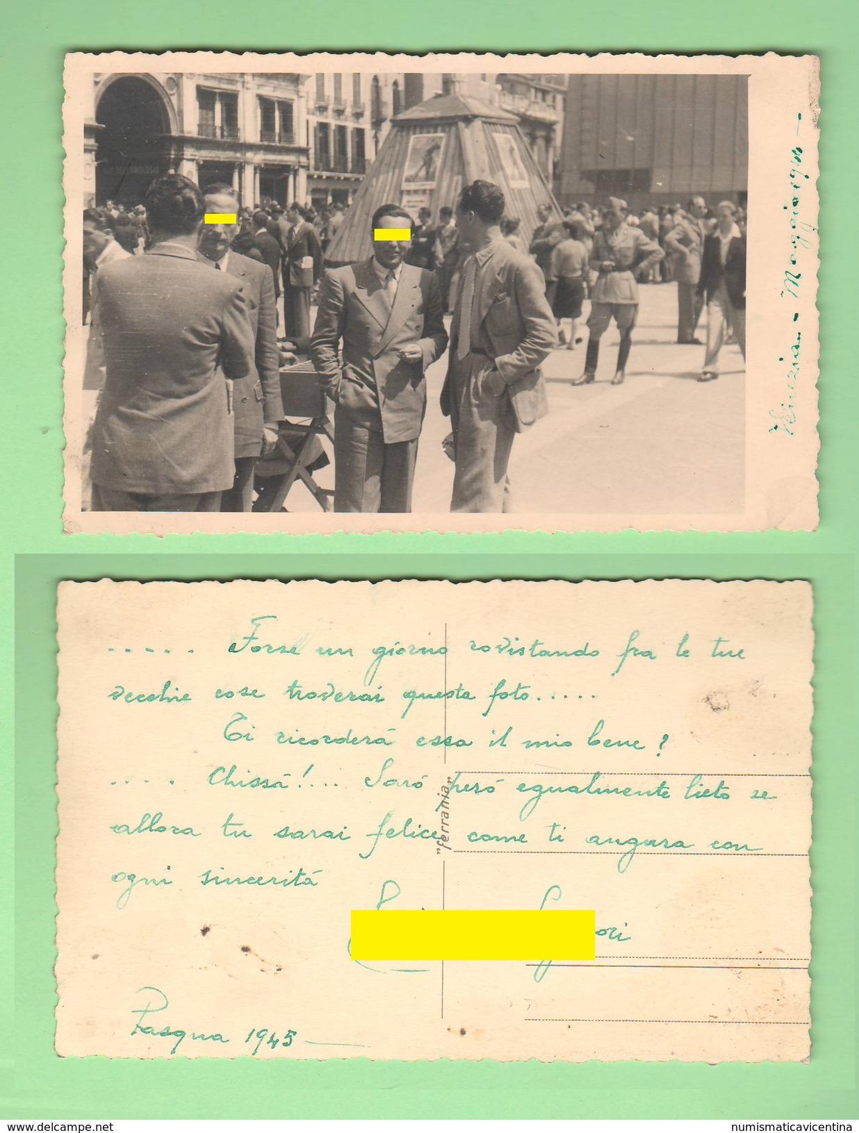 Venezia 1945 Foto Con Dedica - Luoghi