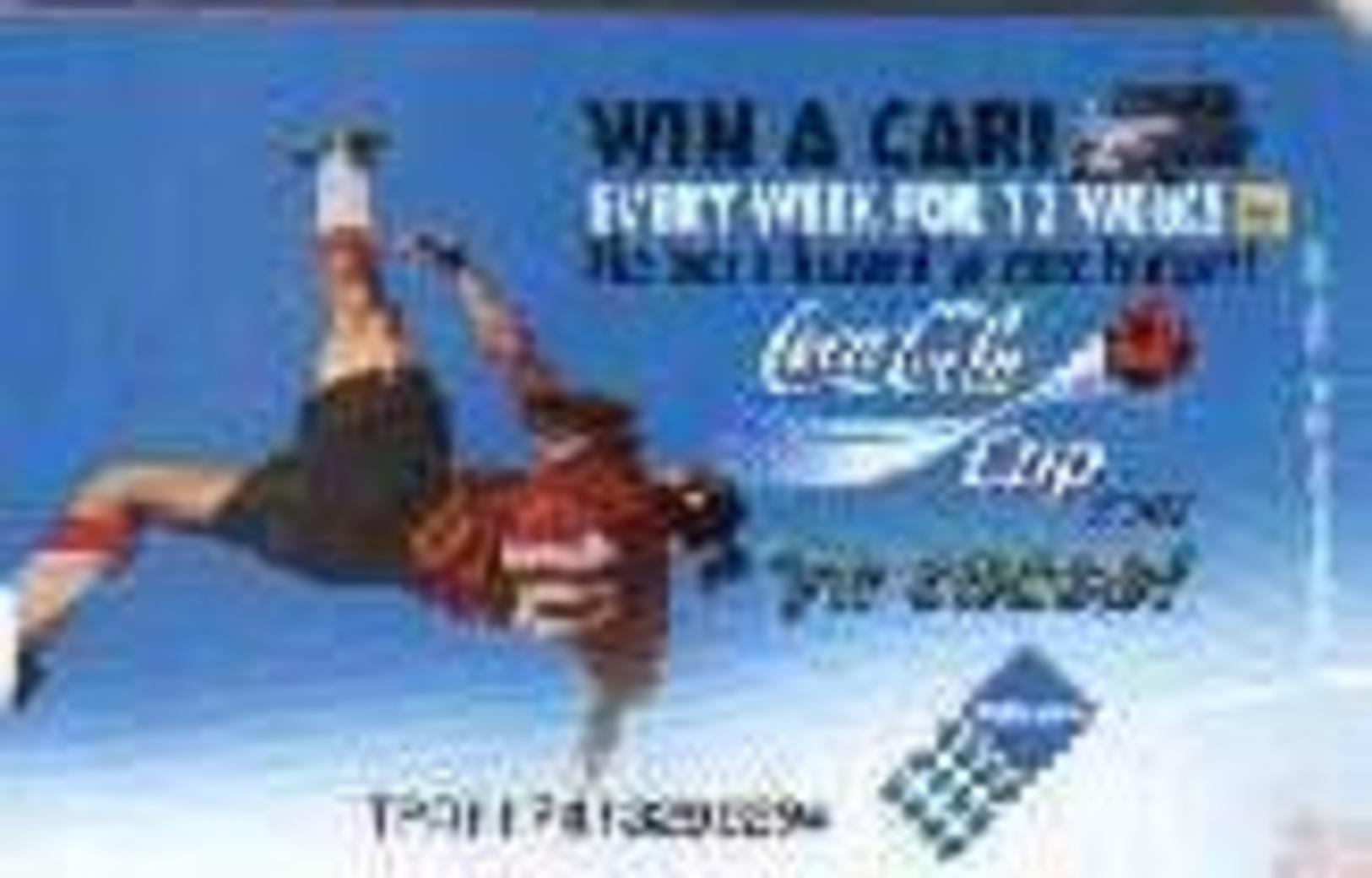 """REPUBLIC SOUTH AFRICA,  Used Telephonecard """"Coca Cola"""" Code Tpat - South Africa"""
