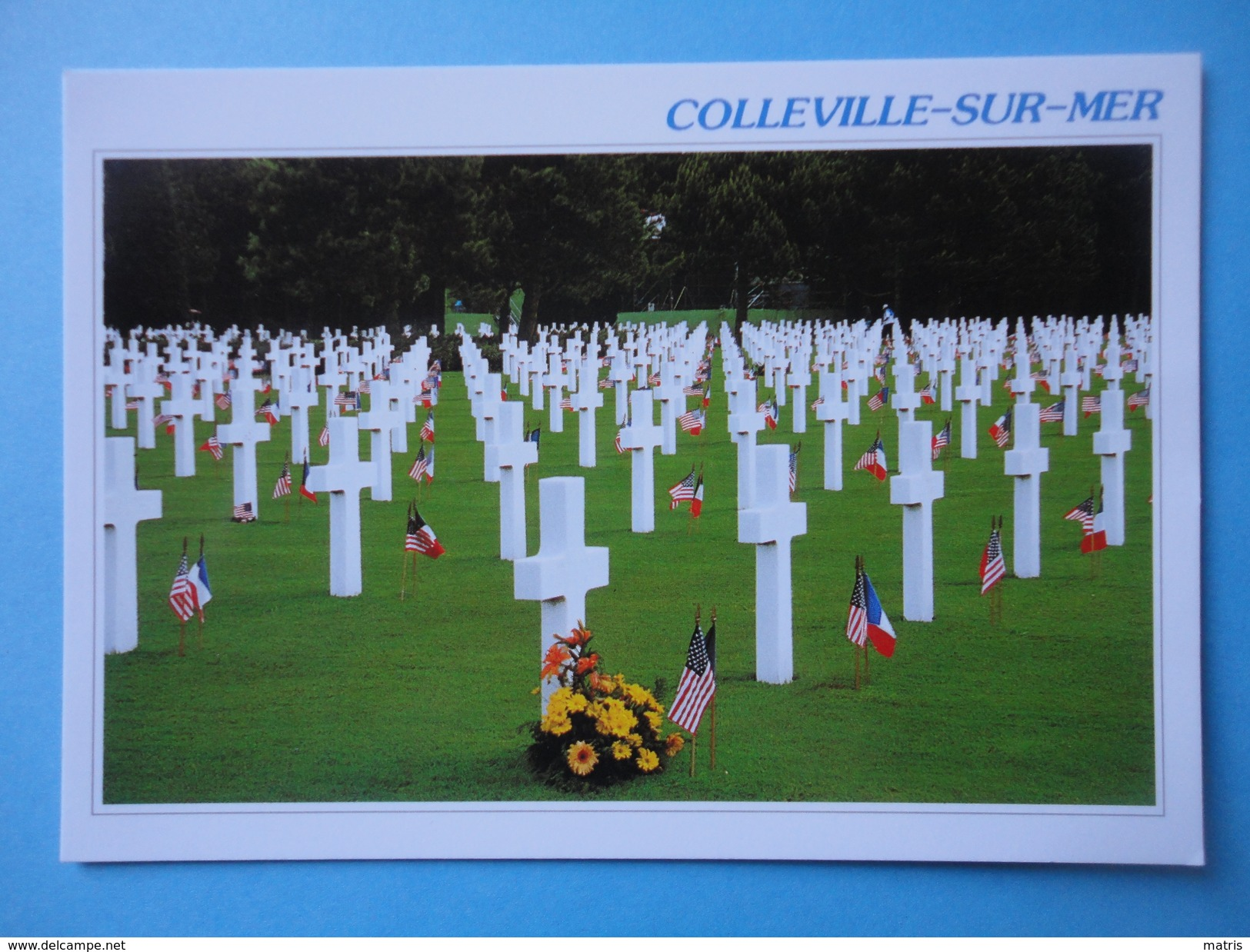 Colleville Sur Mer - Calvados - Francia - Veduta - Le Cimitiere Americain - Francia
