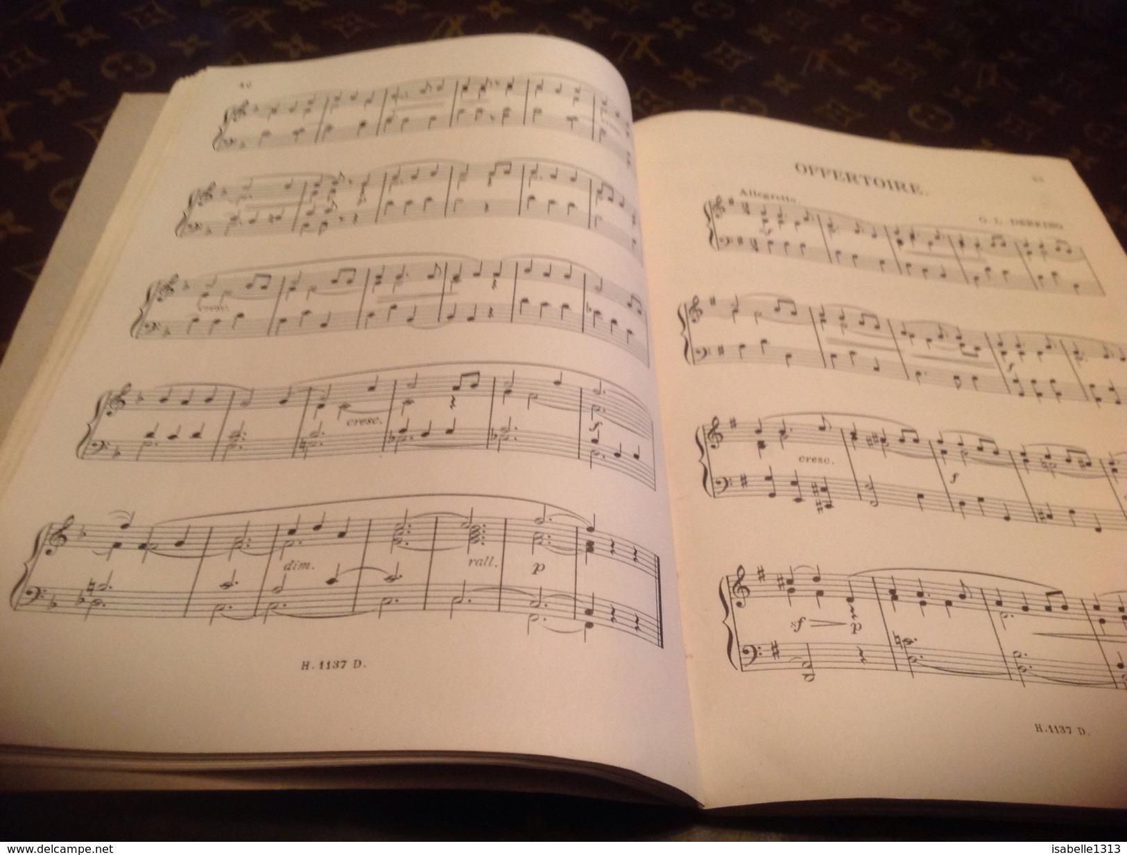 Parnasse Des Organites Du XX Siècle Pièce Pour Orgue Ou Harmonium Concours International De 1911 - Musique