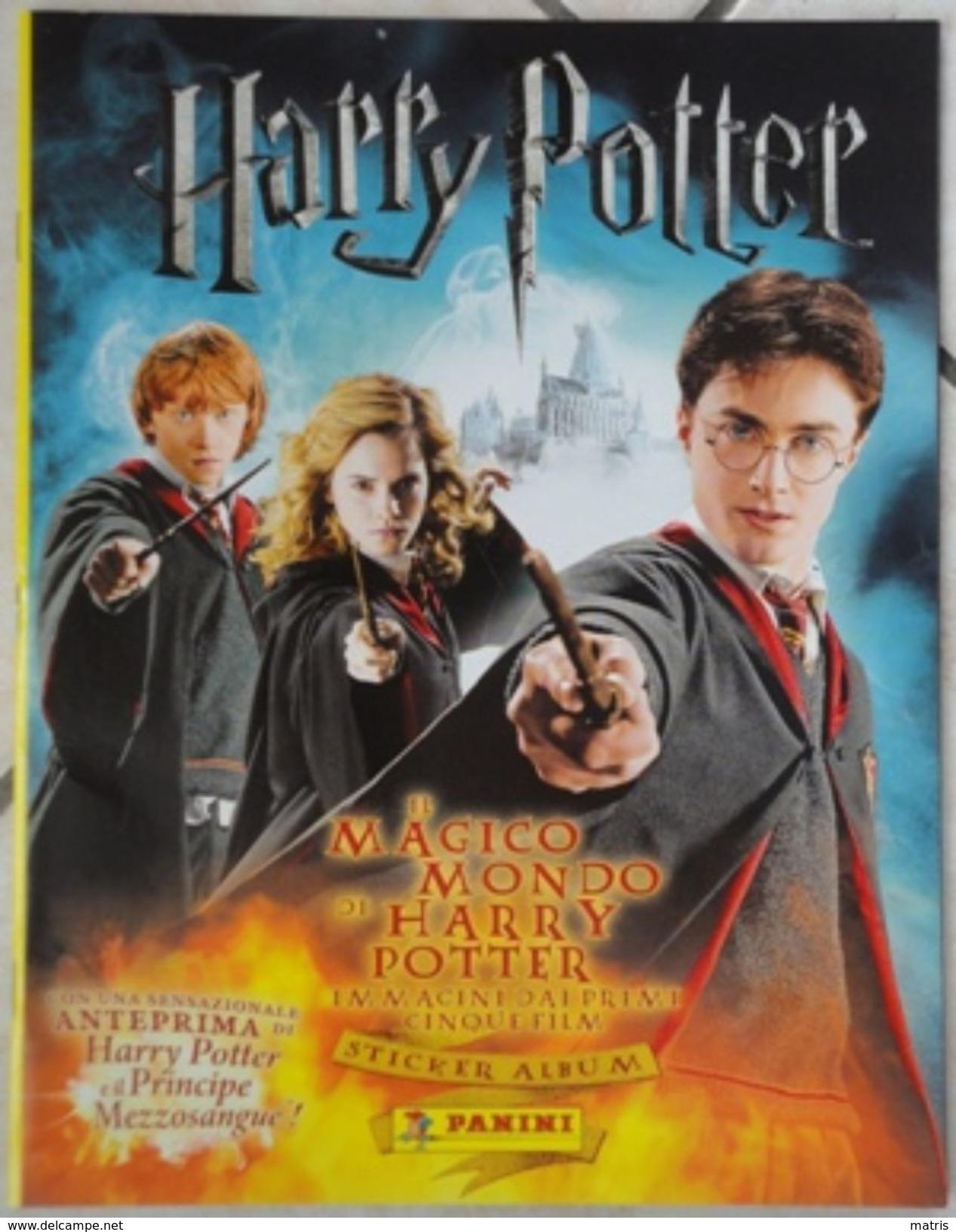 Album Vuoto Il Magico Mondo Di Harry Potter Per La Raccolta Di Figurine - Edizione Panini N. 26/2008 - Panini