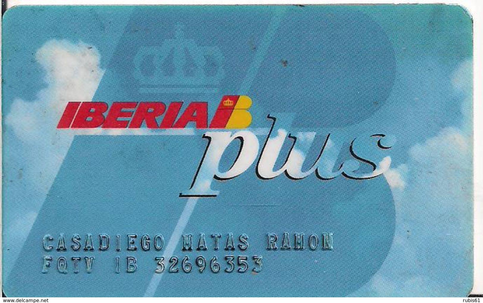 TARJETA IBERIA PLUS - Tarjetas Telefónicas