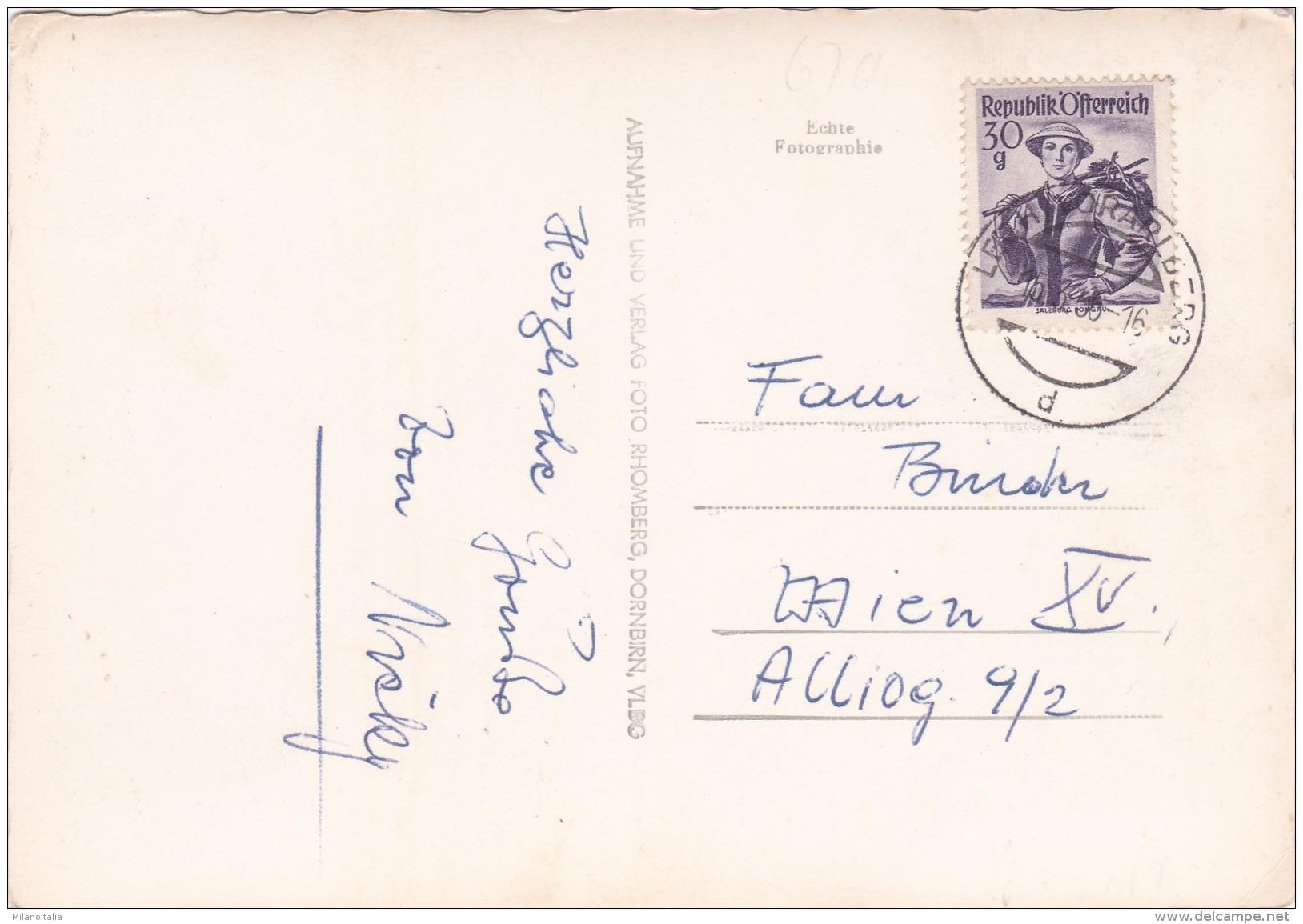 Lech Am Arlberg - Schlegelkopflift Gegen Rüfikopf (4237) * 15. 3. 1956 - Lech