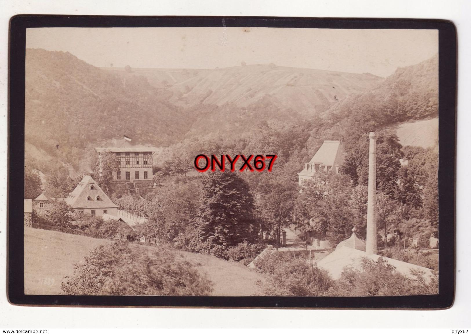 PHOTO CARTONNEE 16,5 X 10,5 Cms - NEUWIED Am Rhein (Allemagne-Deutschland) Foto Albert EISELE Studio Photo RARE - Photographs