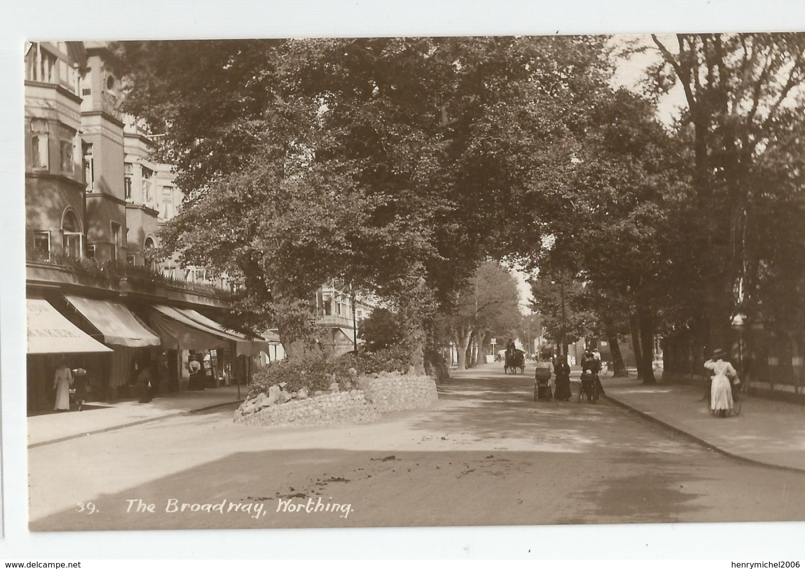 Angleterre Sussex Worthing The Broadway - Worthing