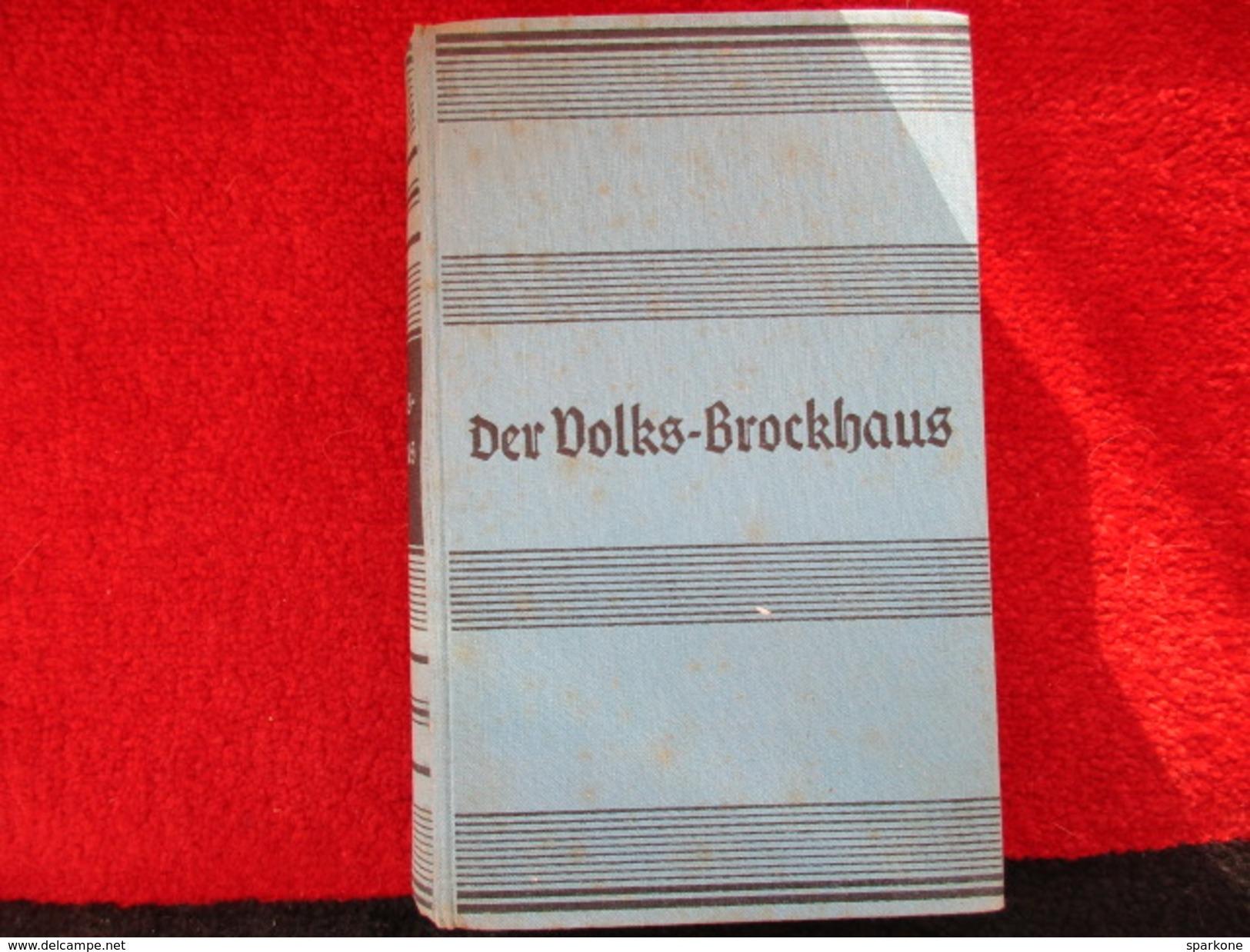 Der Volks Brockhaus / éditions De 1941 - Dictionnaires