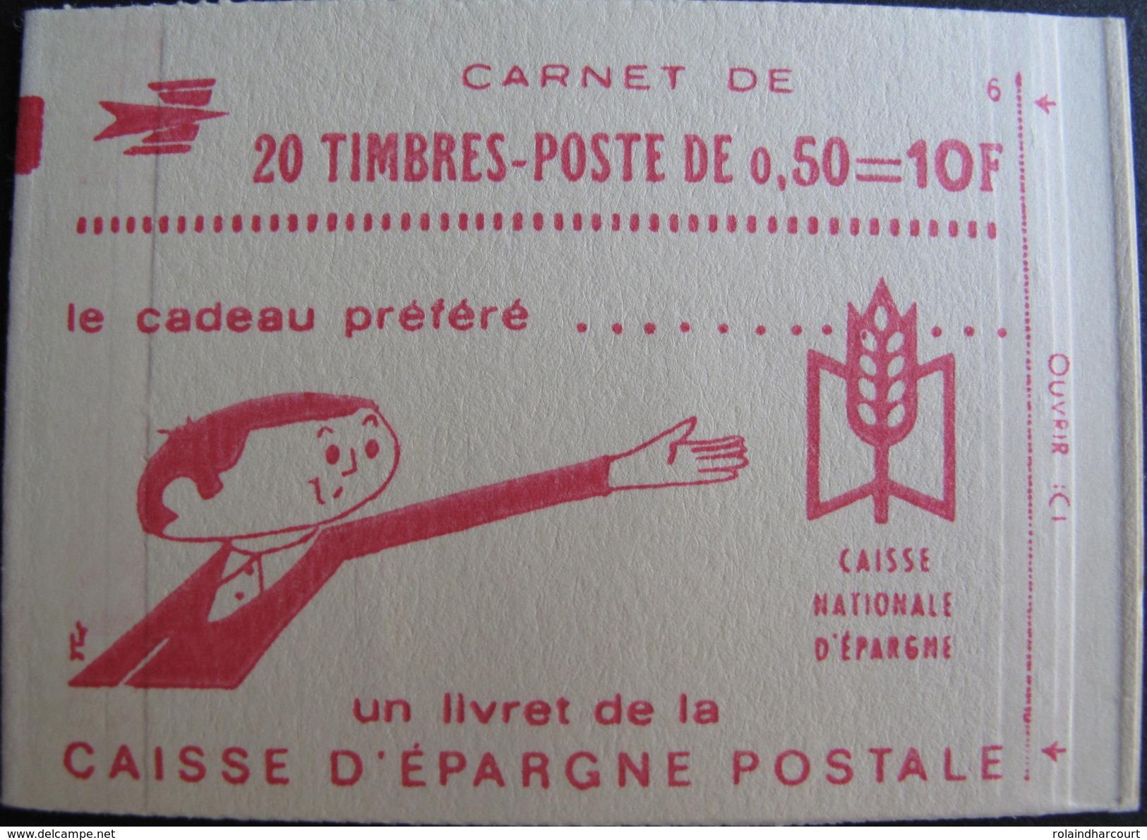 LOT R1703/537 - CARNET NEUF** ET FERME - MARIANNE DE BEQUET N°1664-C2 - Carnets