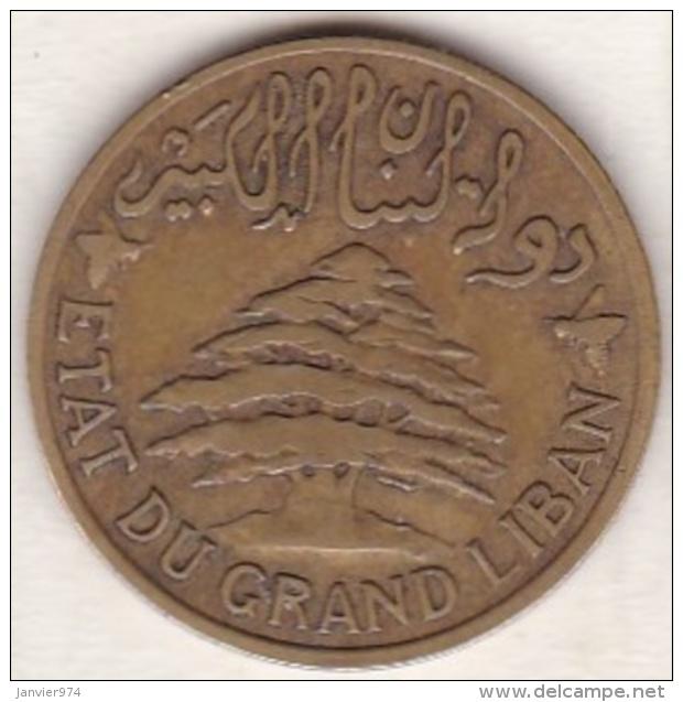ETAT DU GRAND LIBAN. 5 PIASTRES 1933 - Liban