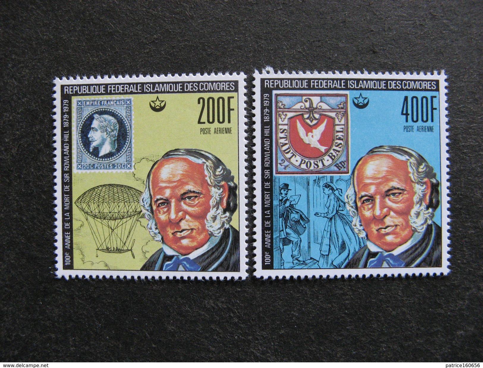 Comores: Paire PA N° 155 Et N°156, Neufs XX. - Comores (1975-...)