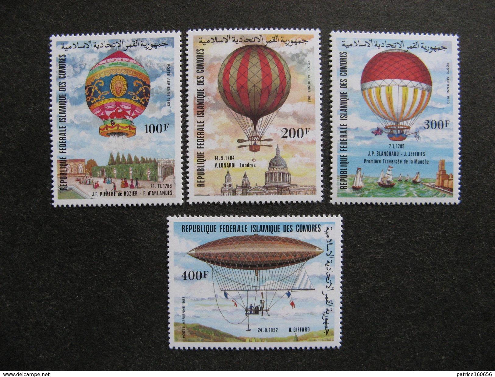 Comores: TB Série PA N° 193 Au N°196, Neufs XX. - Comores (1975-...)
